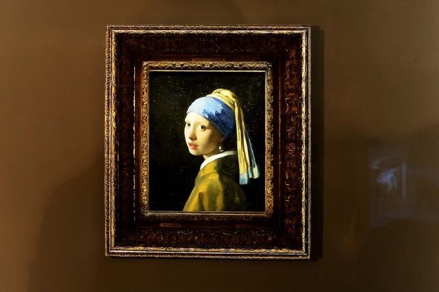 La jeune fille à la perle de Johannes... (PHOTO AFP)
