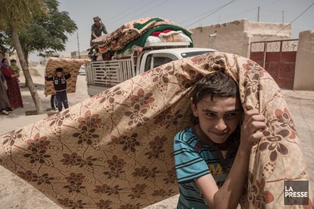 D'ici la fin de l'année, 800 réfugiés yézidis... (PHOTO ANDREA DICENZO, COLLABORATION SPECIALE, archives La Presse)