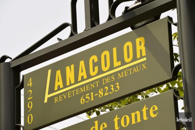 Anacolor, qui exploite une usine de peinture de... (Photothèque Le Soleil, Pascal Ratthé)