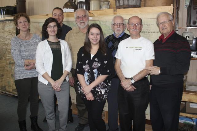 Le comité du circuit patrimonial de Clarence-Rockland: à... (Martin Brunette, Le Droit)