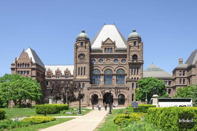 L'Assemblée législative de l'Ontario à Queen's Park, à... (Archives, Le Soleil)