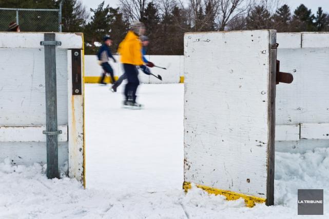 Tout indique que les patinoires extérieures de la... (Archives, La Tribune)