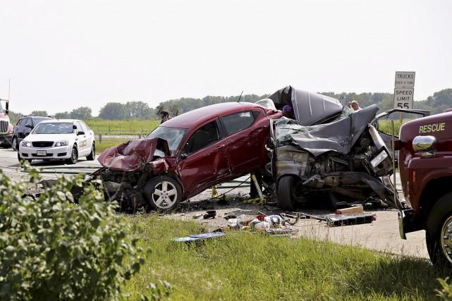 Les accidents routiers tuent chaque année 1,25 million... (AP, Rob Winner)