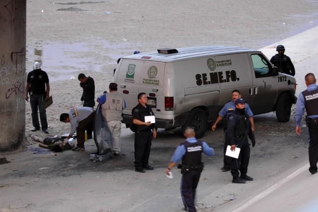 Le 7 juin 2010, Sergio Hernandez s'amusait avec... (AP)