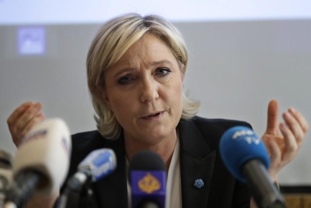 Marine Le Pen... (Photo Hussein Malla, archives Associated Press)