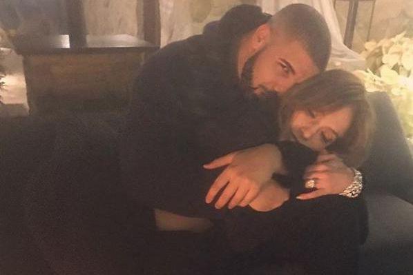 Drake et Jennifer Lopez se sont récemment affichés... (photo tirée d'Instagram)