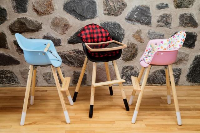 Chaise de cuisine fait au quebec - A quel age met on bebe dans une chaise haute ...