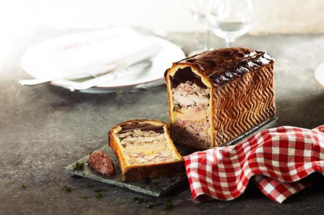 Le fameux pâté en croûte de foie gras... (Photo fournie par Montréal en lumière/crédit Julien Bouvier)