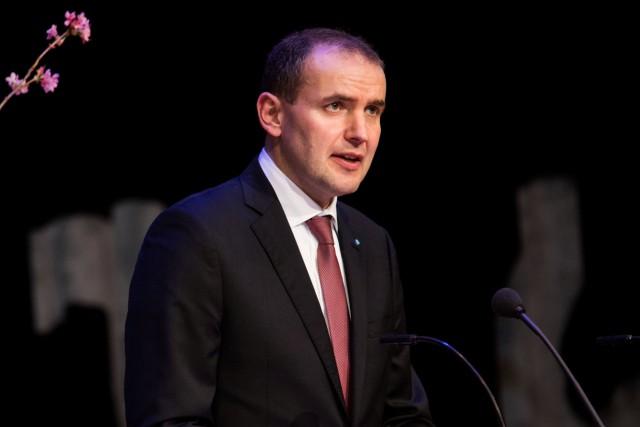Le président de l'Islande, Gudni Johannesson.... (Photo Martin Sylvest, Reuters)