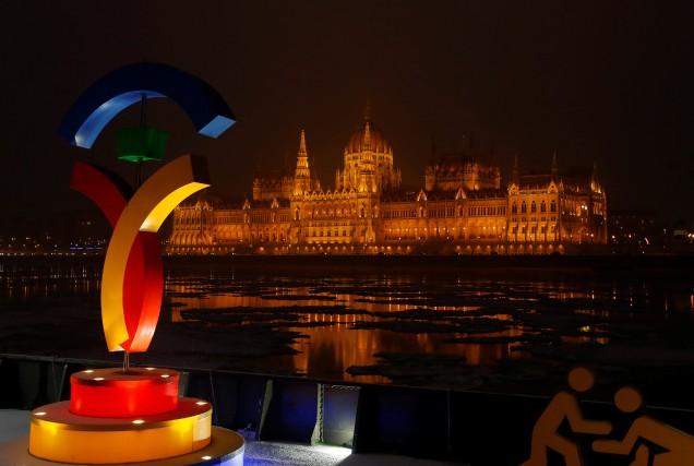 Budapest était l'une des trois villes encore candidates... (Photo Laszlo Balogh, Reuters)