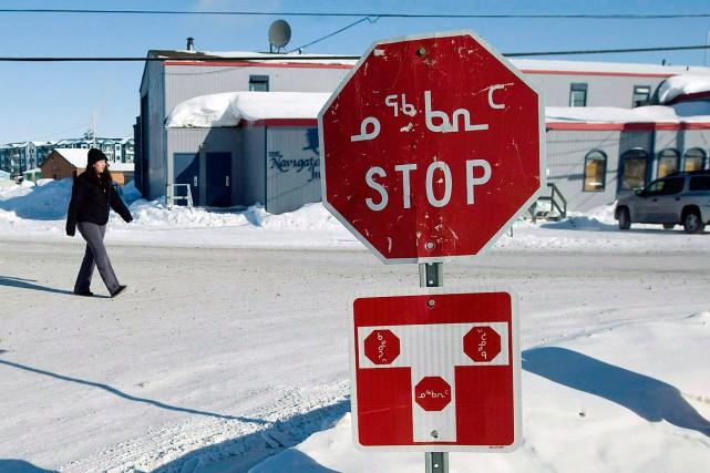 Iqaluit, au Nunavut.... (Nathan Denette, archives PC)
