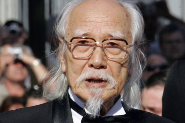 Seijun Suzuki au Festival de Cannes en mai... (PHOTO ARCHIVES AFP)