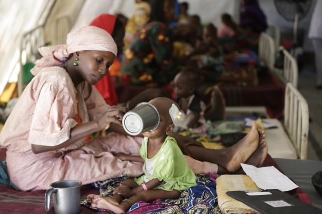 Il n'y a eu qu'une seule famine dans... (Photo AP)