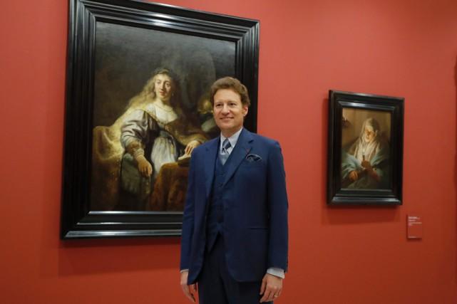 Lecollectionneur américain Thomas Kaplan possède plusieurs Rembrandt exposés...