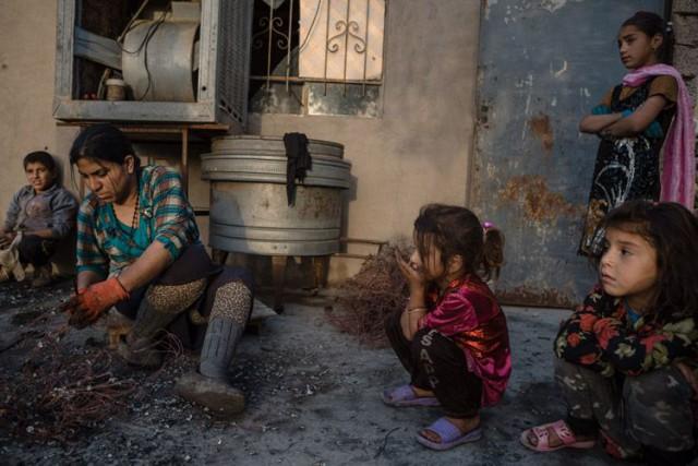 Les Yézidis, un groupe de kurdophones d'Irak et... (PHOTO ANDREA DICENZO, COLLABORATION SPECIALE)
