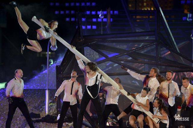 Le Cirque Flip Fabrique participera au spectacleEnsemble....