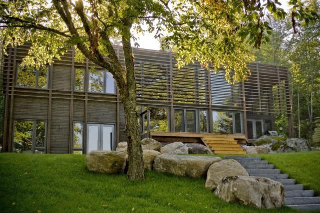 La Maison Fradet, au Lac Saint-Joseph... (Éric Chamberland)