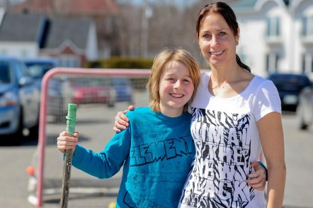 Pascale Chamberland espère attirer 24 équipes de dekhockey... (Andréanne Lemire, Le Nouvelliste)