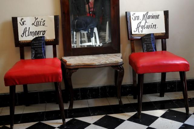La Havane a refusé l'entrée ausecrétaire général de... (PhotoYamil LAGE, AFP)