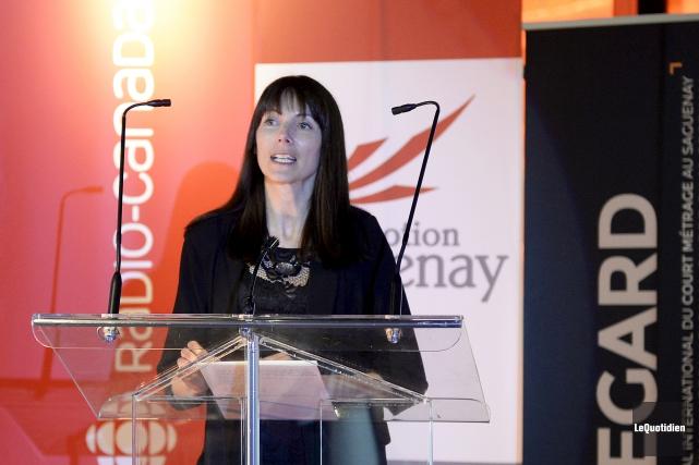 La directrice de la programmation de REGARD a... (Photo Le Quotidien, Jeannot Lévesque)