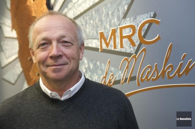 Michel Bourassa est le maire de Saint-Alexis-des-Monts.... (Stéphane Lessard, Le Nouvelliste)