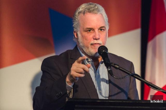 Le premier ministre Philippe Couillard estime que les... (Photothèque Le Soleil)
