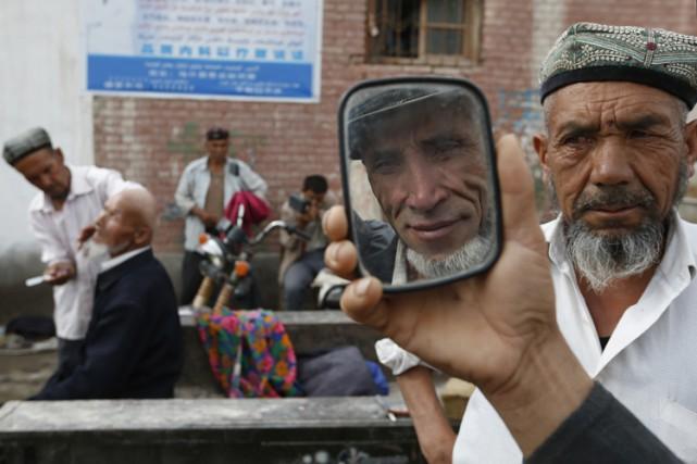 Le Xinjiang, qui occupe tout le nord-ouest de... (ARCHIVES REUTERS)
