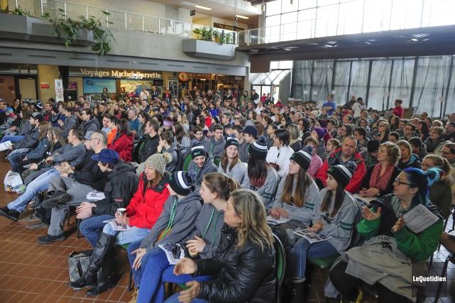 Les athlètes du Saguenay-Lac-Saint-Jean qui participeront aux Jeux... (Archives Le Quotidien, Gimmy Desbiens)