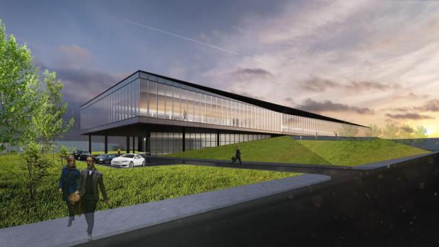 Le nouveau siège social de Lumenpulse, d'une superficie... (Image fournie parLemay)