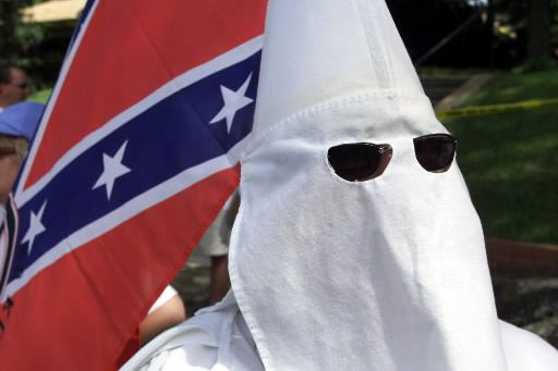 Un ancien dirigeant de l'organisation raciste américaine Ku Klux Klan (KKK) a... (Photo archives Reuters)