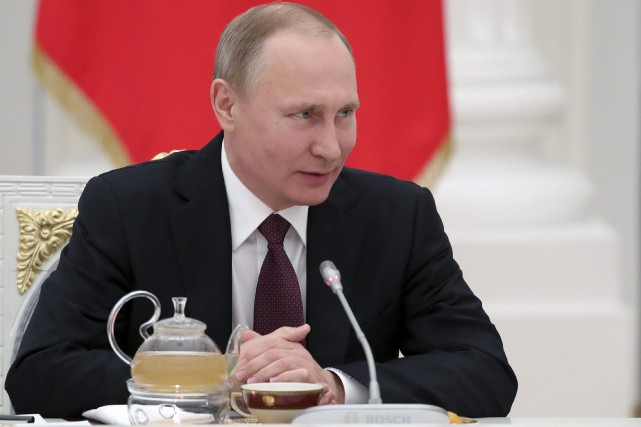 Vladimir Poutine... (Photo Mikhail Klimentyev, Associated Press/Sputnik)