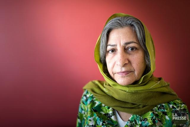 La militante iranienne Roghayeh Azizi Mirmahaleh.... (Édouard Plante-Fréchette, archives La Presse)