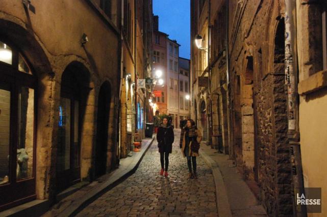 Le Vieux-Lyon... (Photo Stéphanie Bérubé, La Presse)