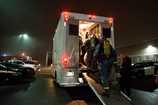 Cette opération d'envergure a démantelé plusieurs organisations criminelles... (Fournie par la Police provinciale de l'Ontario)