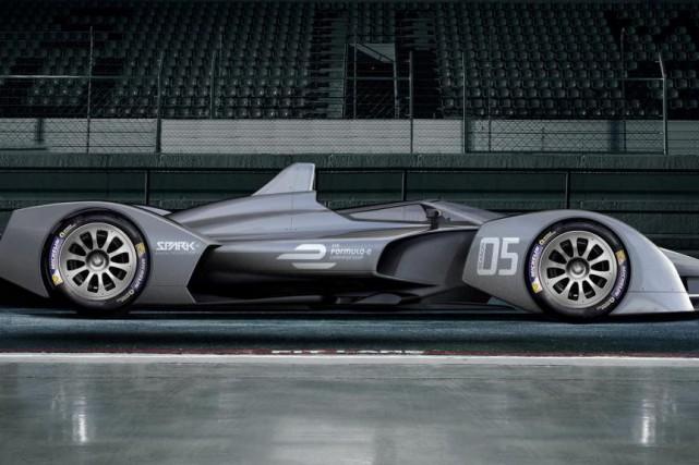 La prochaine voiture de Formule E pour l'année... (ILLUSTRATION FOURNIE PAR LE CONSTRUCTEUR)