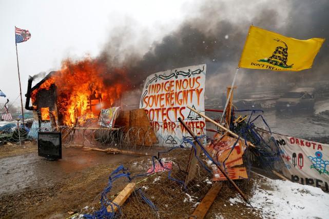 La tribu sioux de Standing Rock estime ainsi... (Photo Terray Sylvester, REUTERS)