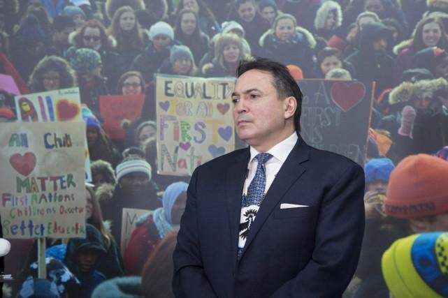 Perry Bellegarde... (Photo Adrian Wyld, La Presse Canadienne)