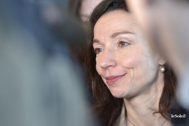 Martine Ouellet... (Photo Yan Doublet, archives Le Soleil)