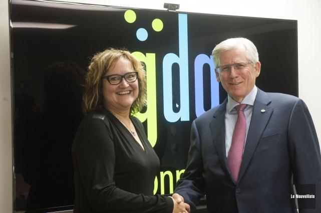 Isabelle Martin, présidente et chef de direction de... (Stéphane Lessard, Le Nouvelliste)