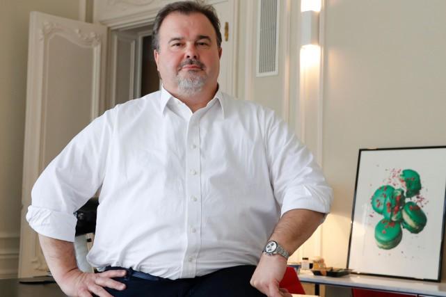 Le célèbre pâtissier français Pierre Hermé... (PHOTO ARCHIVES AFP)