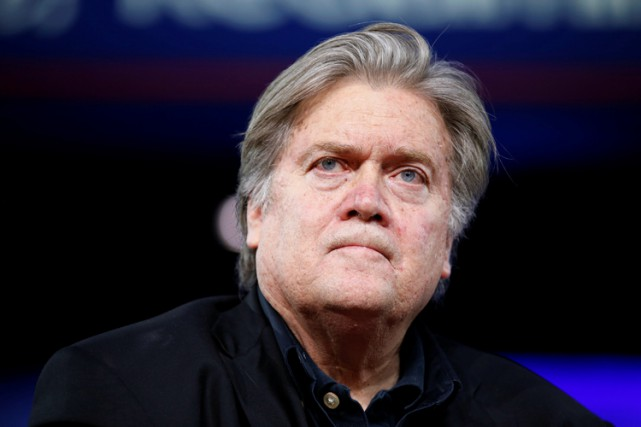 Stephen Bannon... (PHOTO REUTERS)