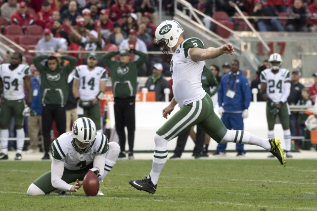 Nick Folk... (Photo Kyle Terada, USA Today Sports)