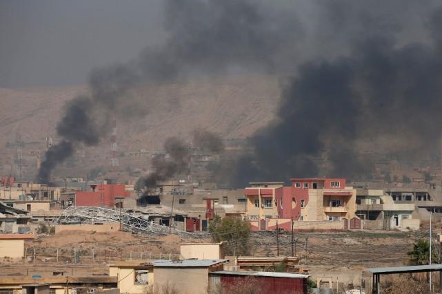 Le général américain Matt Isler affirme que l'EI... (PHOTO Azad Lashkari, ARCHIVES REUTERS)