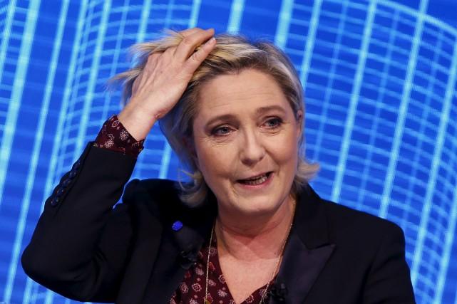 La chef du Front national, Marine Le Pen,... (AP, François Mori)