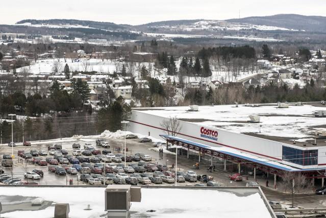 Le projet de déménagement du magasin Costco vers... (Spectre Média, René Marquis)