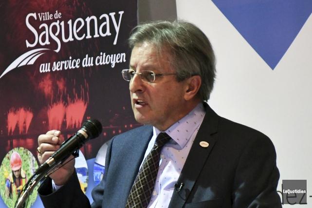 Jean Tremblay, maire de Saguenay... (Archives Le Quotidien, Michel Tremblay)