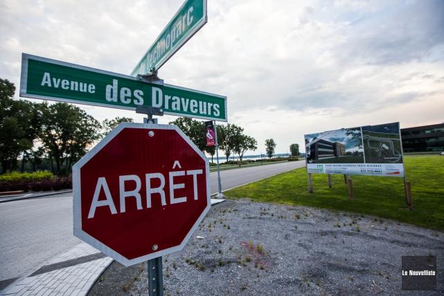L'avenue des Draveurs demeurera.... (Olivier Croteau, Le Nouvelliste)