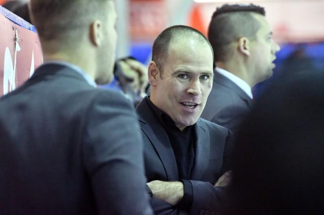 L'entraîneur du Blizzard, Sébastien Vouligny.... (Stéphane Lessard, Le Nouvelliste)