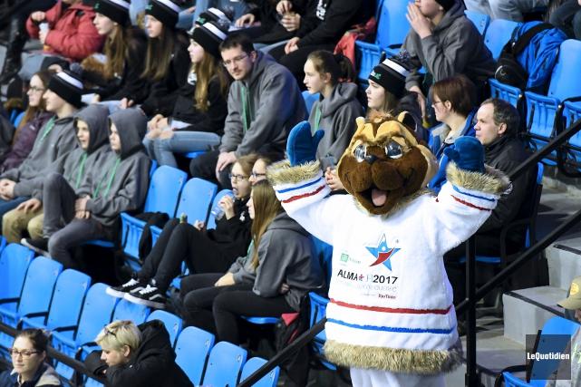 Carcajou est fin prêt pour accueillir les athlètes... (Archives Le Quotidien, Rocket Lavoie)