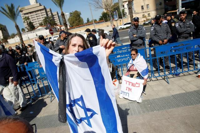 Le gouvernement deBenjamin Nétanyahou a été maintes fois... (Photo Baz Ratner, REUTERS)